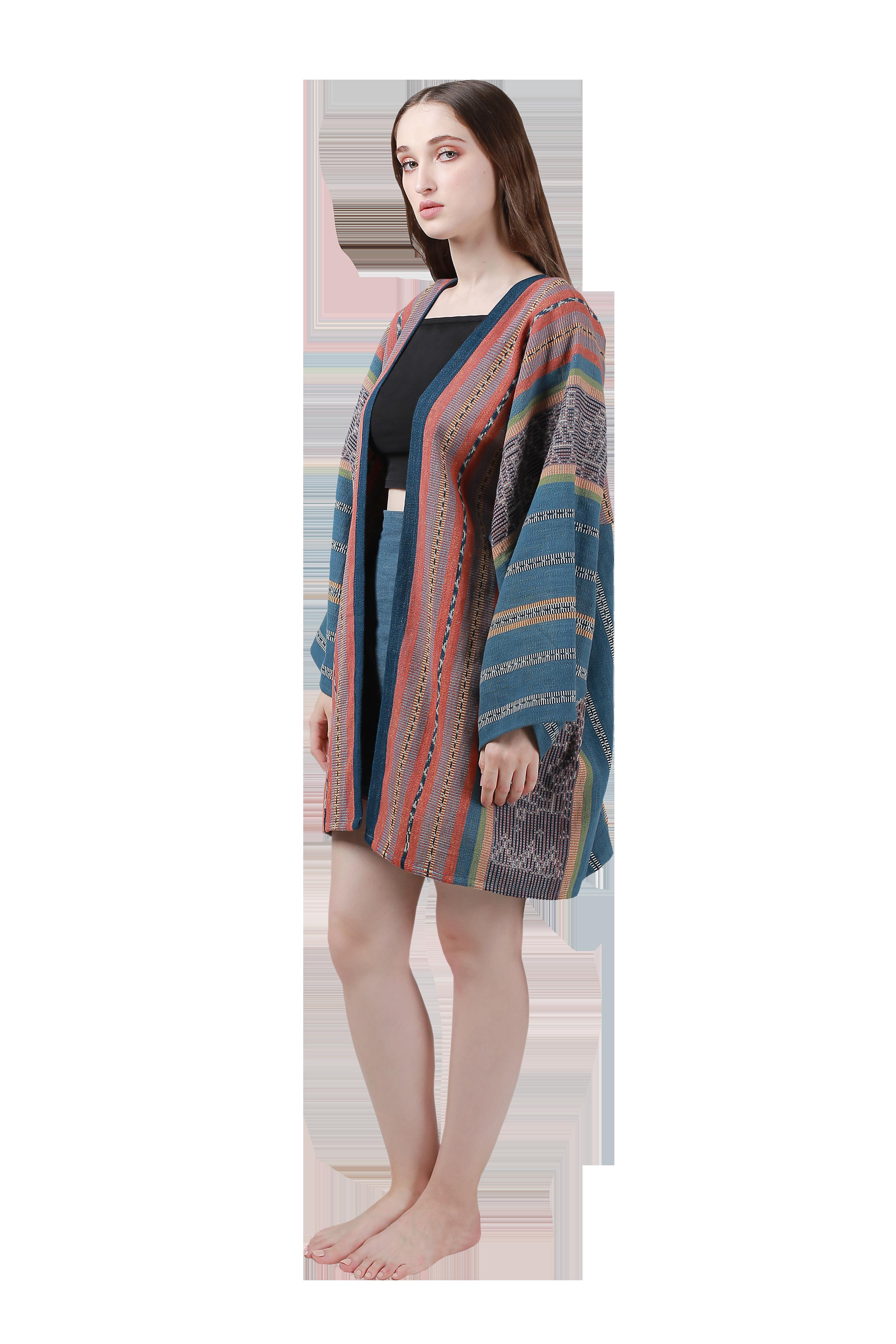 NI -Kaftan jacket/dress, cotton/seda (unisex)
